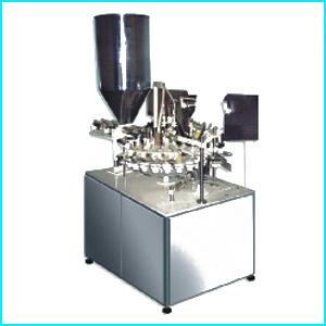 Автомат для наполнения и герметезации туб